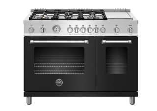 Master series by Bertazzoni </p><p>From $4,149 Matte black is the latest color choice in Bertazzoni's Master series. Available in spring 2018, the new option will be offered in all-gas, dual-fuel, and induction models and in sizes starting at 24 inches.