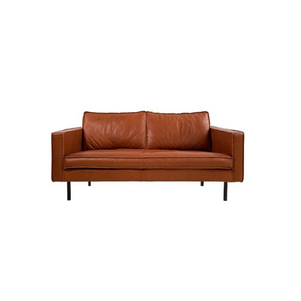 Slimm Outside Leather Sofa by Loods 5