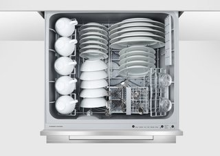 DishDrawer dishwasher by Fisher & Paykel</p><p>From $649 Available in single- and double-drawer models, Fisher & Paykel's DishDrawer is a godsend for compact kitchens.