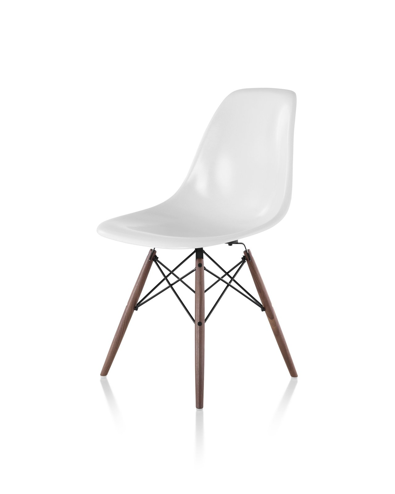 Eames Molded Plastic Side Chair With Dowel Base By YLiving   Dwell