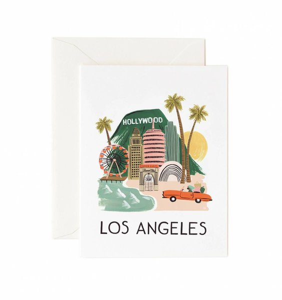 Los Angeles Greeting Card by Rifle Paper Co.