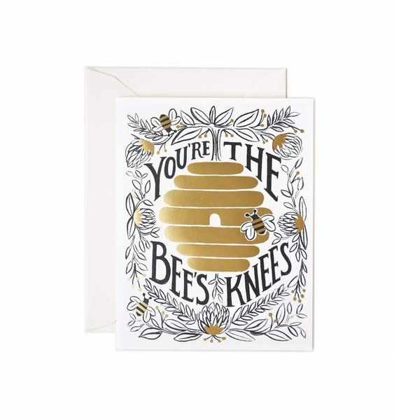You're the Bee's Knees Greeting Card by Rifle Paper Co.