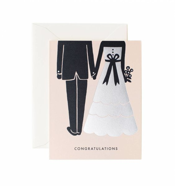 Congrats Beginnings Greeting Card by Rifle Paper Co.