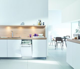 """18"""" Futura Dimension Slimline dishwasher by Miele</p><p>$1,399</p><p><br> Miele's ultra-slim dishwasher isn't just efficient in terms of space, it's also capable of washing and drying a full load in 31 minutes."""