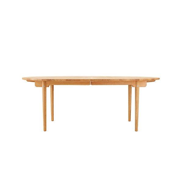 Hans J. Wegner CH338 Oiled Oak Extension Dining Table