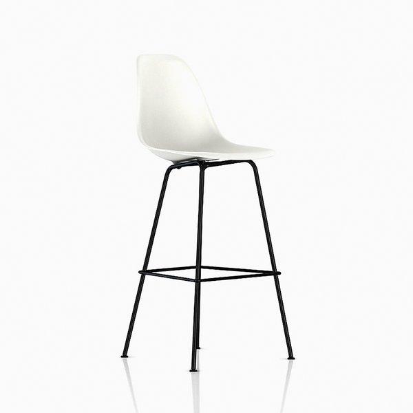 Eames Molded Plastic Stool – Bar Height