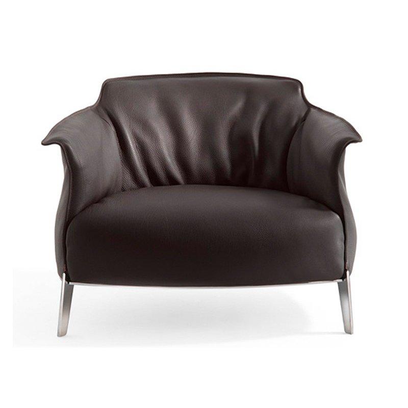 Poltrona Frau Archibald Gran Comfort Lounge Chair