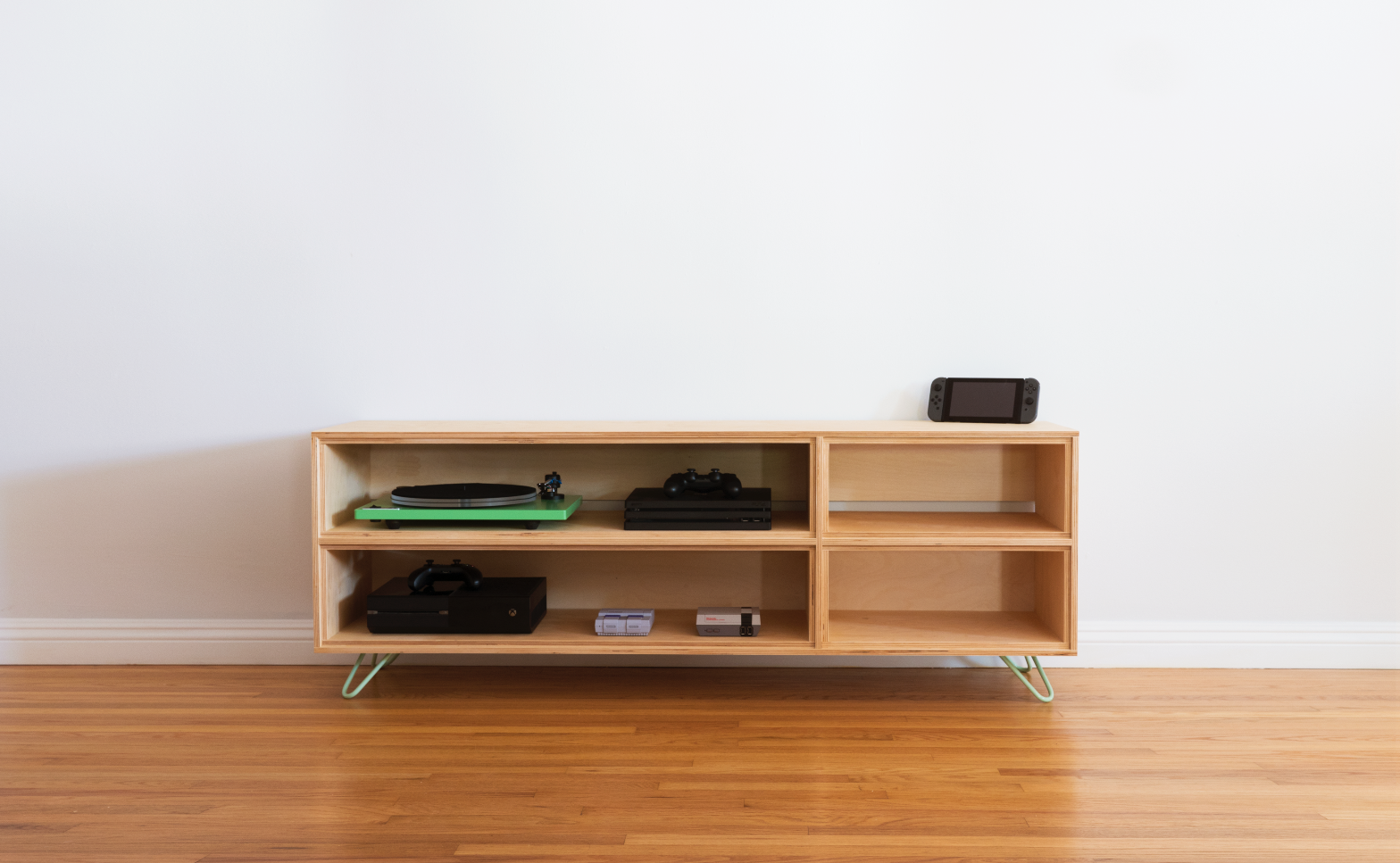 Dwell Made Presents Diy Plywood Media Console Dwell