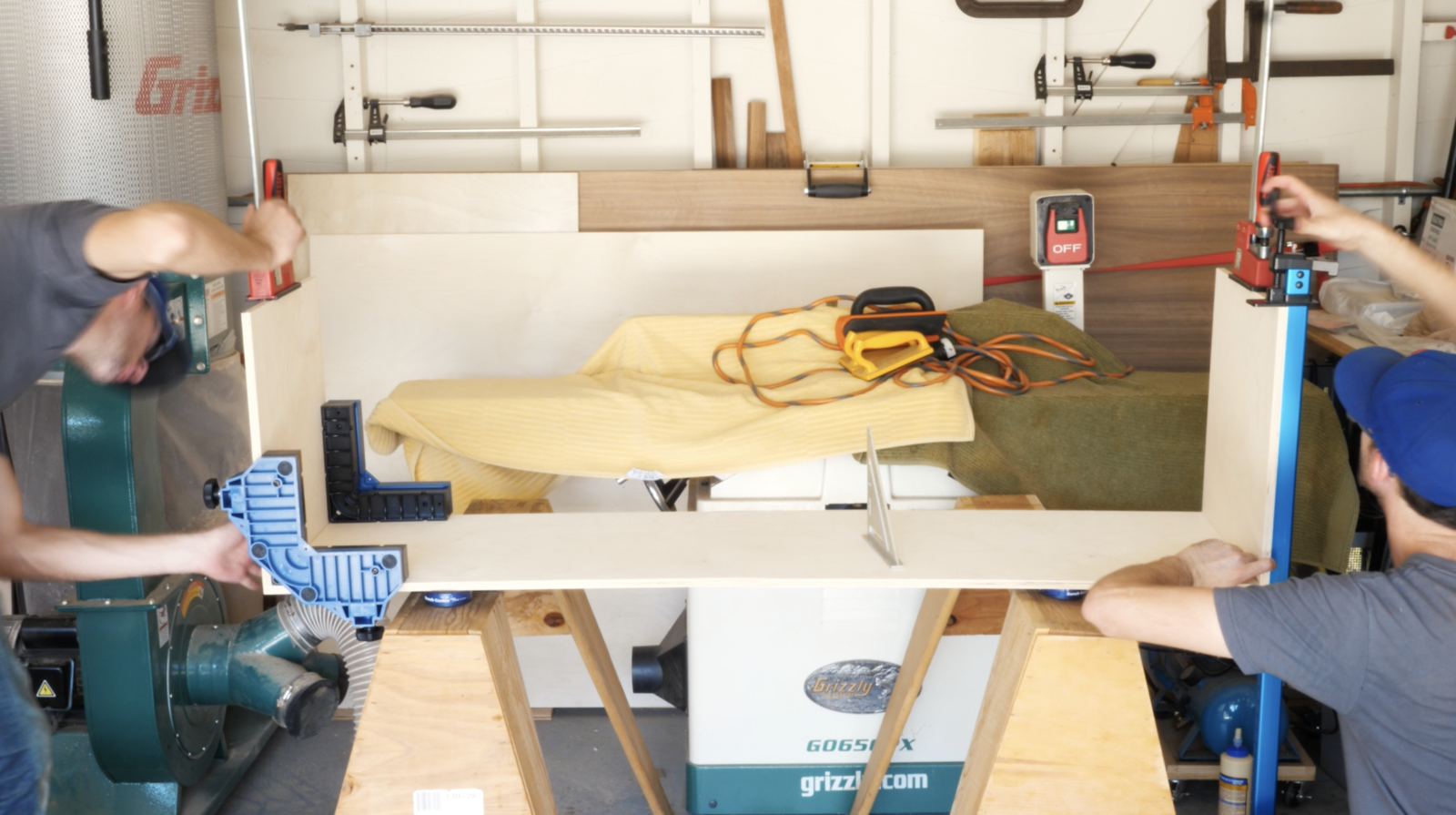 Dwell Made Presents: DIY Plywood Media Console