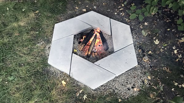 Photo 10 Of 10 In Dwell Made Presents Diy Stone Fire Pit