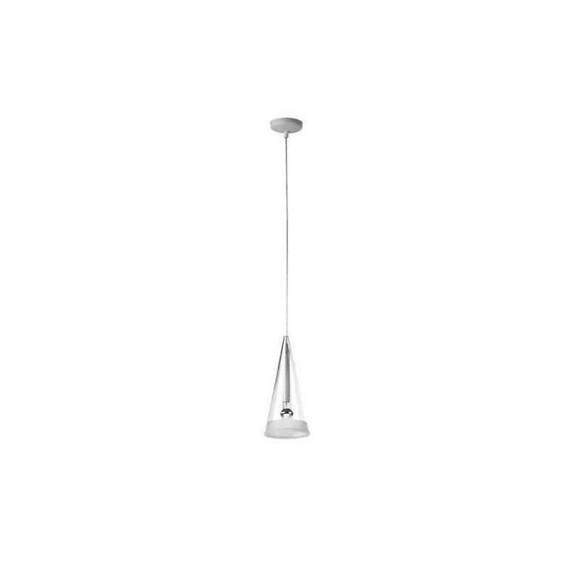 Fucsia One Light Suspension Lamp