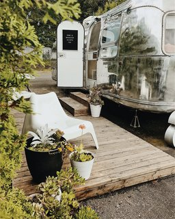 A Couple Transform a Vintage Airstream Into a Scandinavian-Inspired Tiny Home