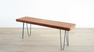 Dwell Made Presents: DIY Leather Bench - Photo 7 of 8 -