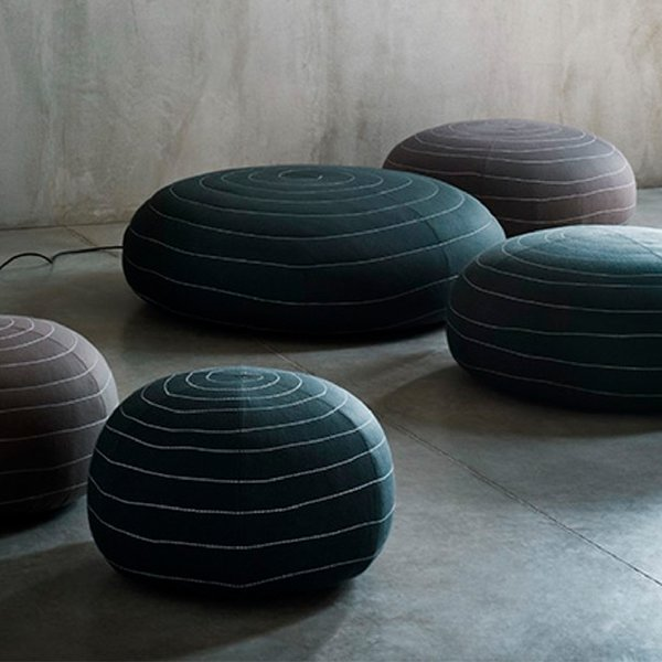 Shop Modern Furniture Living Room Ottomans Cubes Dwell Amazing Dwell Pouf