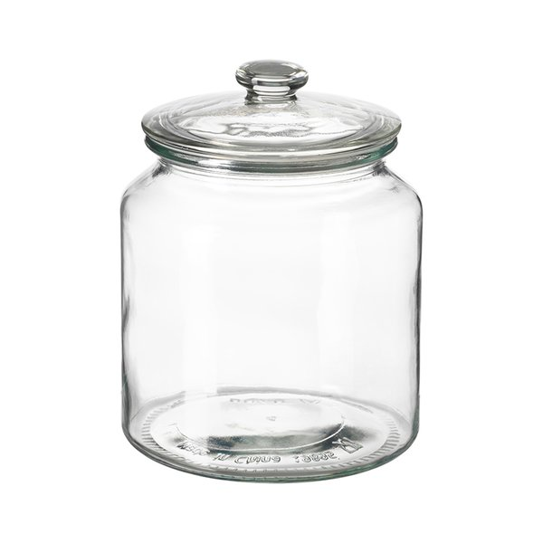 IKEA VARDAGEN Glass Jar With Lid