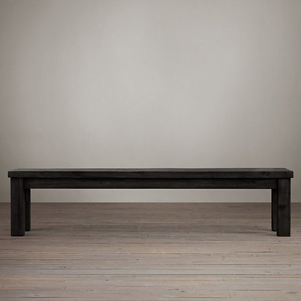 "SALVAGED WOOD BENCH 90"" by Timothy Oulton, for Restoration Hardware"