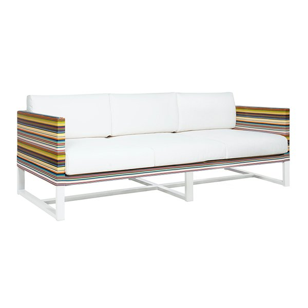 Stripe 3-Seater Sofa by MamaGreen