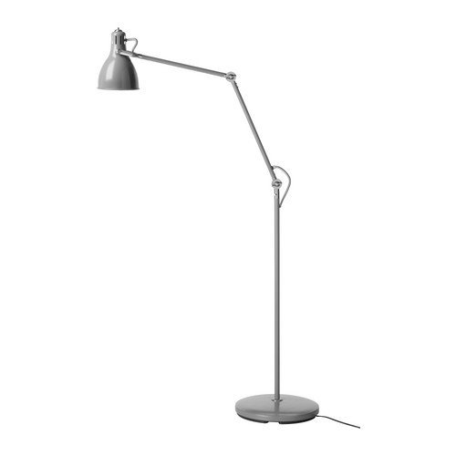 Ikea aröd floor reading lamp