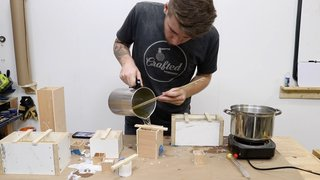 Dwell Made Presents: DIY Wood-Based Candles - Photo 9 of 13 -