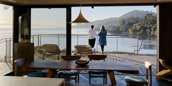 You'd Never Guess This Japanese-Style Home in Tiburon Is a Kit House
