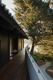 Prentis Hale of SHED Architecture & Design reimagined a kit home in Tiburon, California, that was erected in 1991.
