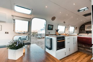 A Photographer Couple's Airstream Renovation Lets Them Take Their Business on the Road - Photo 1 of 14 -