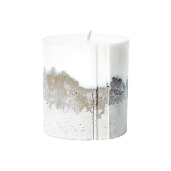Novel Studios Concrete Candle