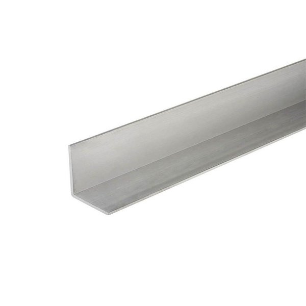 "Everbilt 1/2"" x 96"" Aluminum Angle"