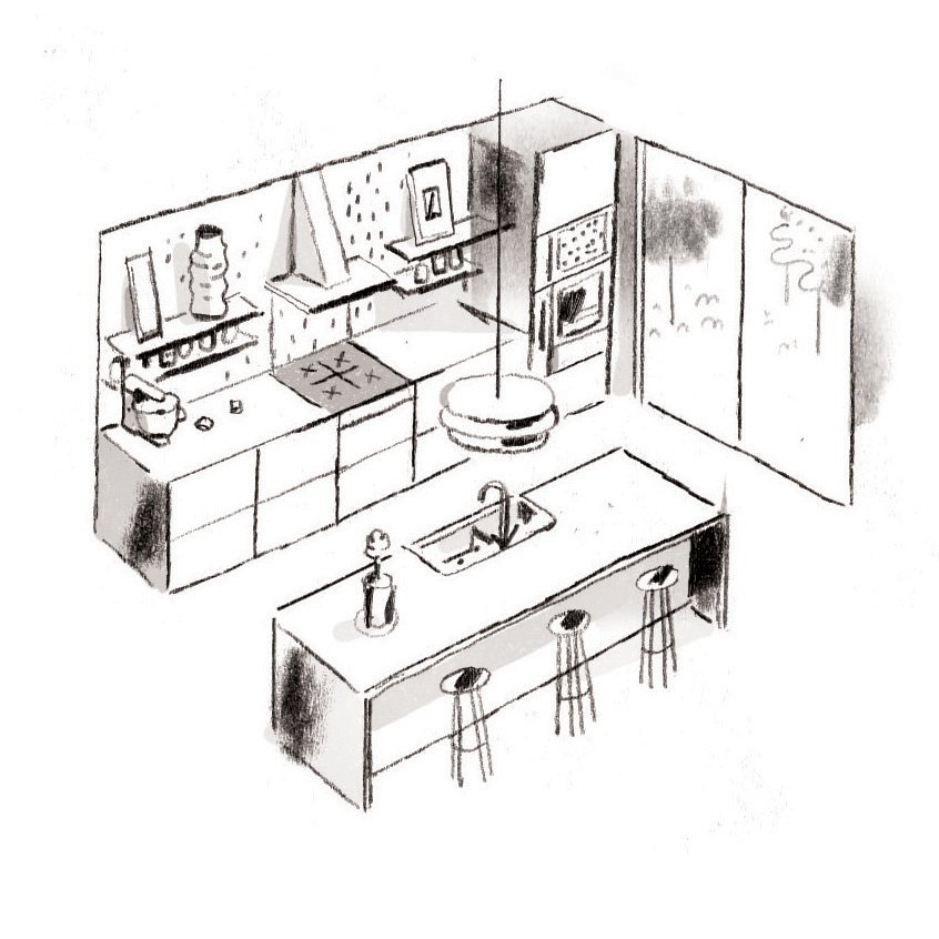 Photo 2 of 4 in Check Out These Pro Tips For Designing Kitchens and Bathrooms