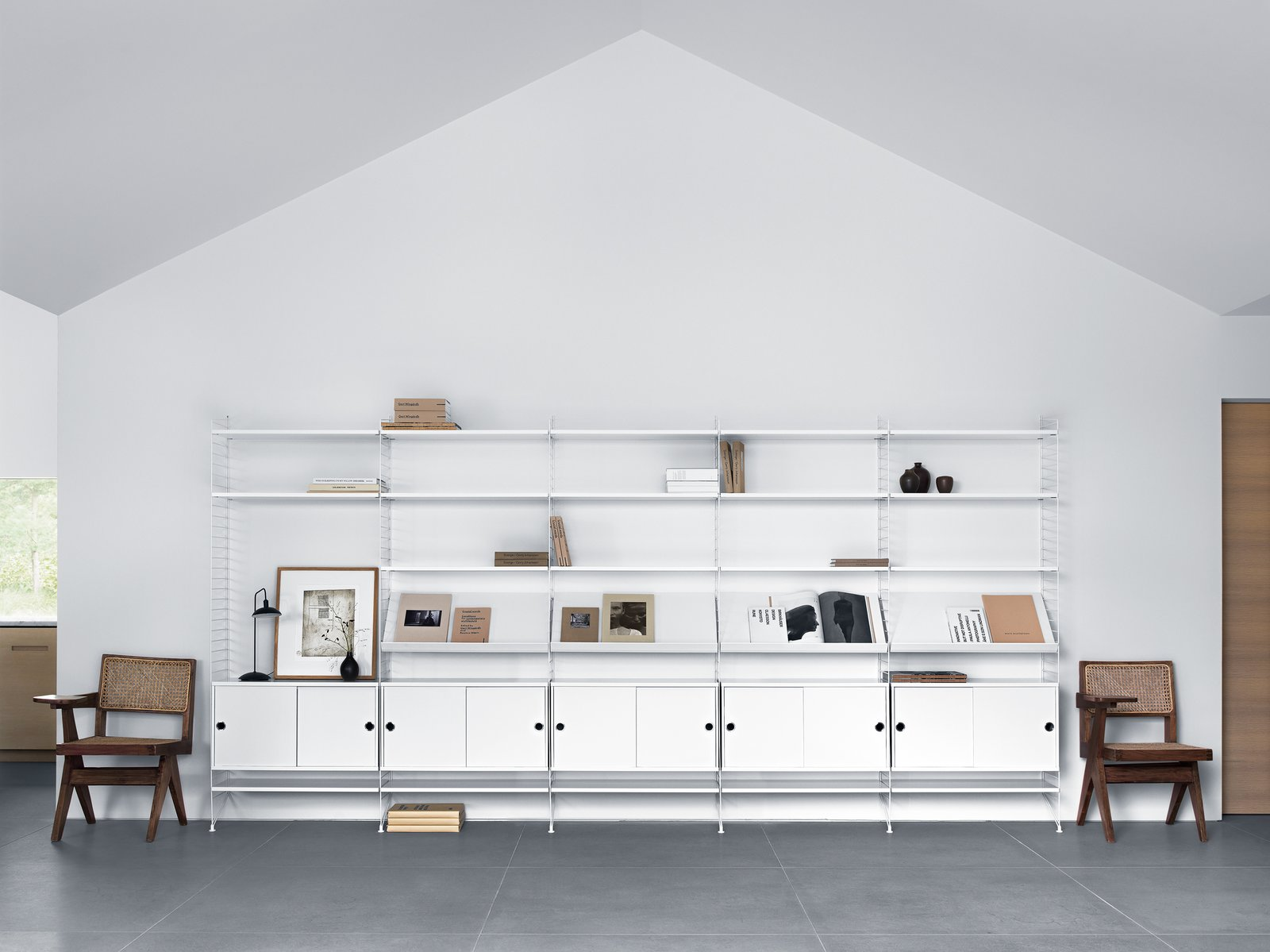 Storage Room and Shelves Storage Type  Photo 6 of 16 in Trend Watch: Study Up on the Best Design from imm Cologne 2018