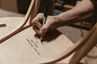 Watch: It Takes 9 Hours For Woodworkers to Make This Shaker-Inspired Chair - Photo 4 of 19 -