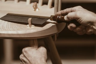 Watch: It Takes 9 Hours For Woodworkers to Make This Shaker-Inspired Chair - Photo 6 of 19 -