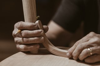 Watch: It Takes 9 Hours For Woodworkers to Make This Shaker-Inspired Chair - Photo 7 of 19 -