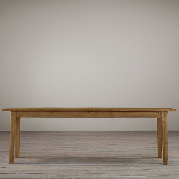 1900S BOULANGERIE RECTANGULAR EXTENSION DINING TABLE by Restoration Hardware