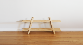 Dwell Made Presents: DIY Modern Shoe Rack - Photo 10 of 12 -