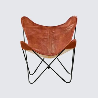 The Citizenry Palermo Chair – Black & Cognac