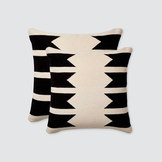 The Citizenry Urbano Pillows – Black