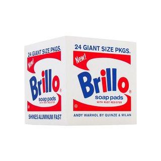 Andy Warhol Foam Brillo Pouf