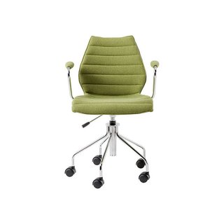 Kartell Maui Soft Swivel Armchair Height-Adjustable