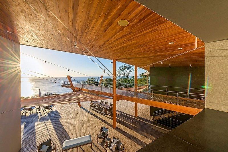 Outdoor, Wood Patio, Porch, Deck, and Large Patio, Porch, Deck  Architectural Dream Villa