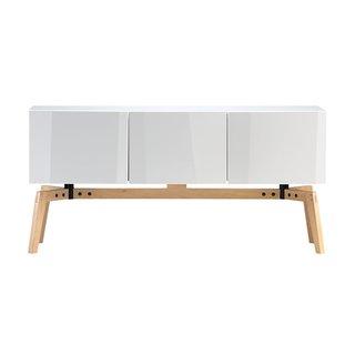 Photo Of In CB Alba Credenza Dwell - Cb2 sofa table