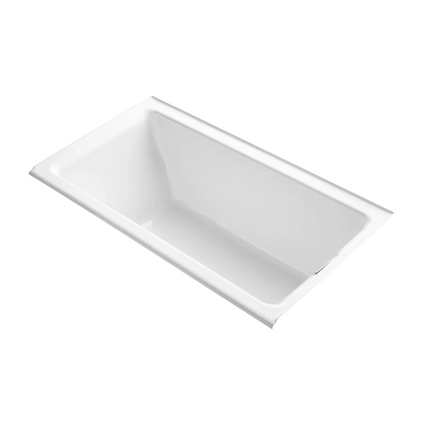 Kohler Tea-For-Two Alcove Soaking Bathtub