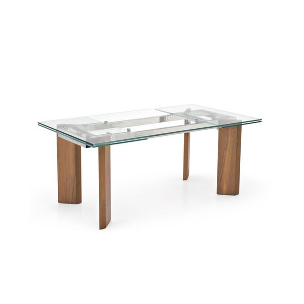Tower Wood Extension Table from Calligaris