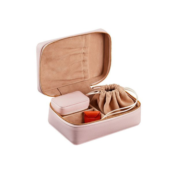 Stow Amelia Leather Jewelry Case Set