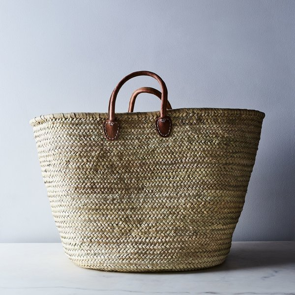 Medina Mercantile Extra-Large French Market Storage Basket