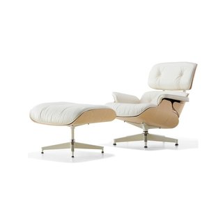 Ordinaire Eames Lounge Chair With Ottoman U2013 White Ash By YLiving   Dwell