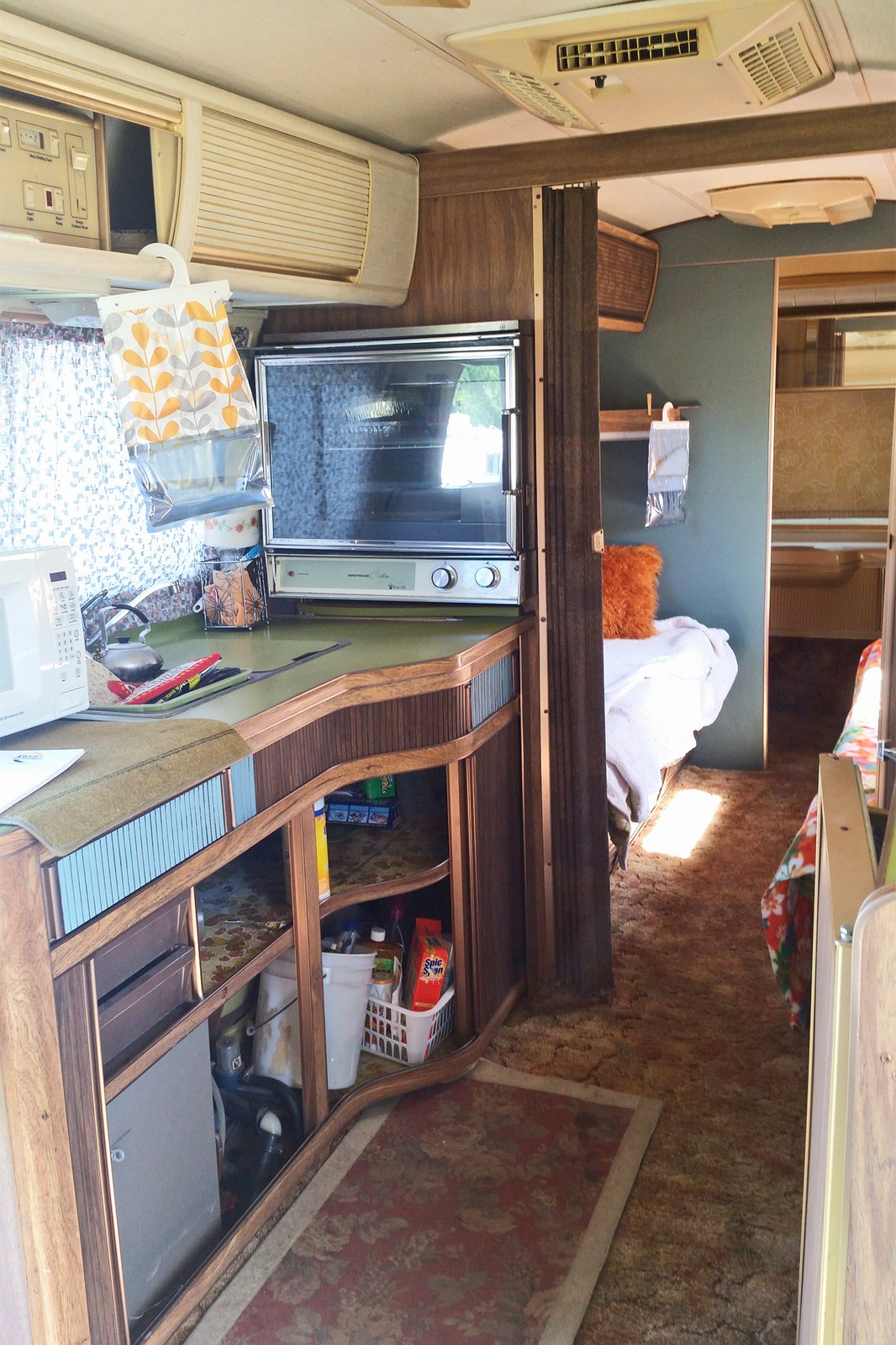 Photo 2 Of 19 In Before And After A Couple Revamp An Old Airstream