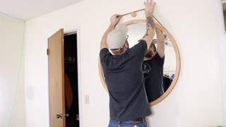Dwell Made Presents: DIY Round Wall Mirror With Leather Strap - Photo 17 of 20 -