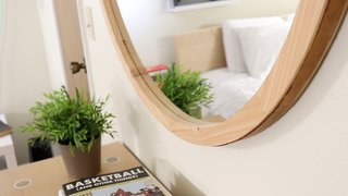 Dwell Made Presents: DIY Round Wall Mirror With Leather Strap - Photo 19 of 20 -