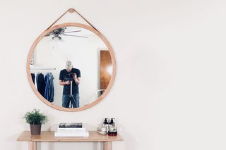 Dwell Made Presents: DIY Round Wall Mirror With Leather Strap - Photo 20 of 20 -